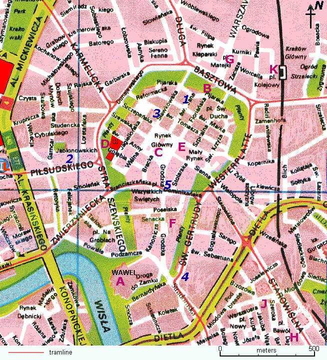 Cracow Map