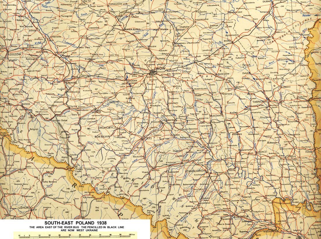 warsaw region 1913 from austrian military survey map