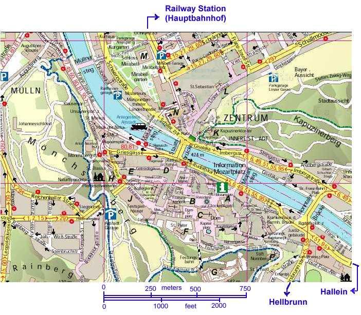 Salzburg Map